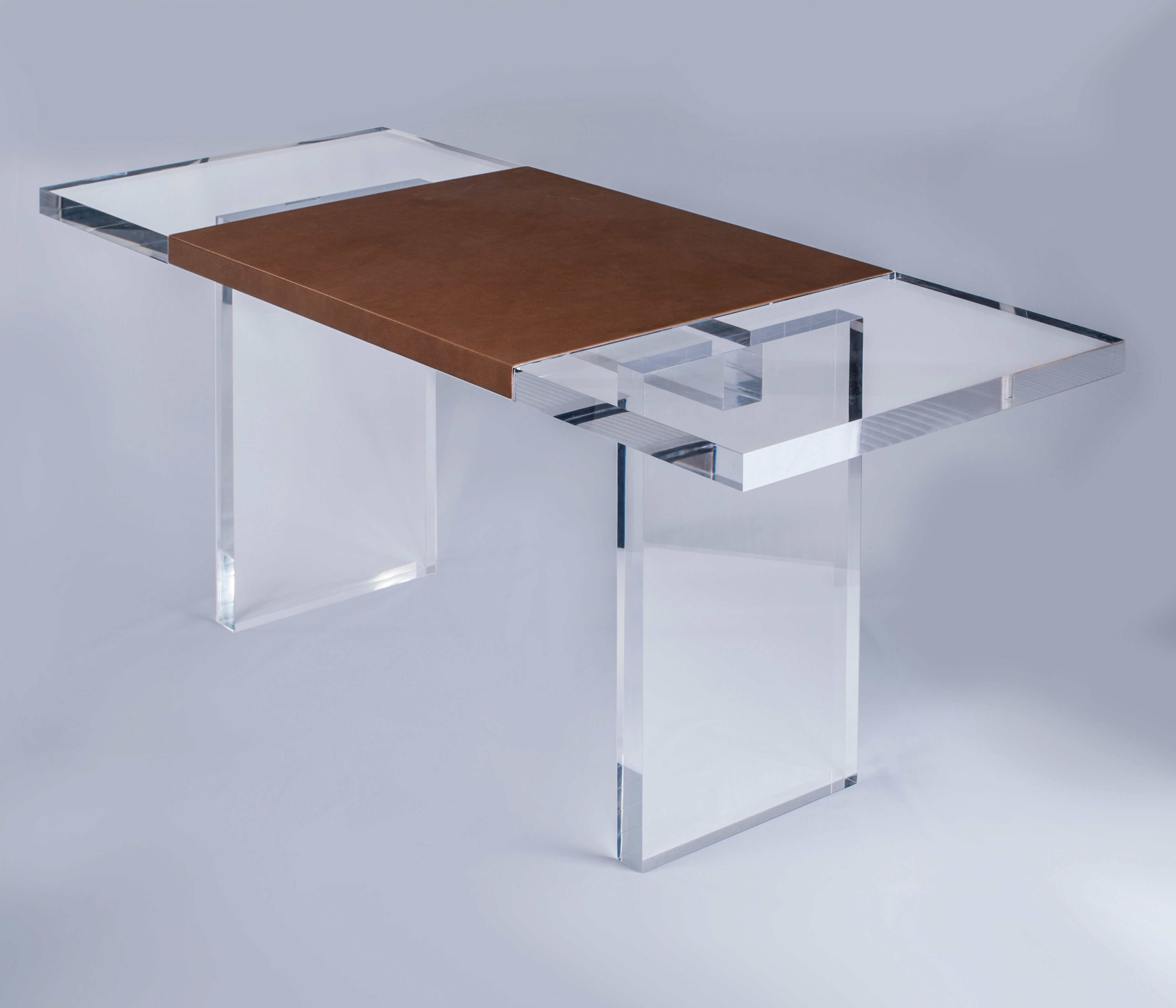 PRODUCTS COFFINIER KU DESIGN - Plexi craft coffee table